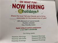 Part time sales managers
