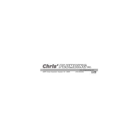 Chris' Plumbing, Inc. Rashida Anjarwala